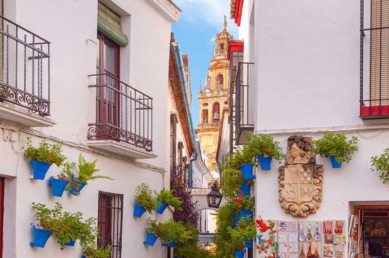 Ga in het voorjaar naar Cordoba in Spanje