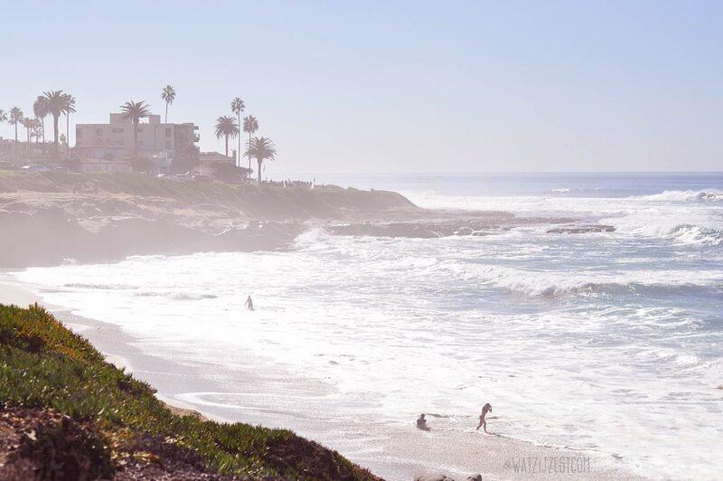 La Jolla strand in San Diego