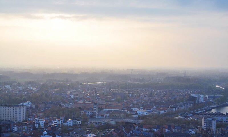 Geweldig uitzicht over Mechelen vanaf de Skywalk
