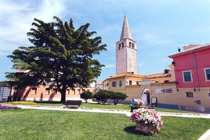 Eufrasiusbasiliek in Porec, Kroatië