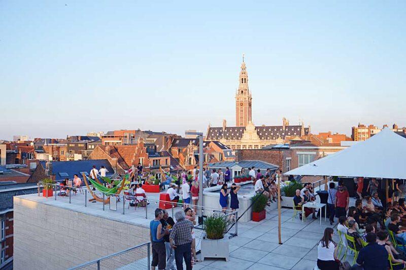 Genieten van de zomer op een dakterras in Leuven