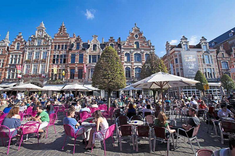 Oude Markt in Leuven - Foto Toerisme Leuven