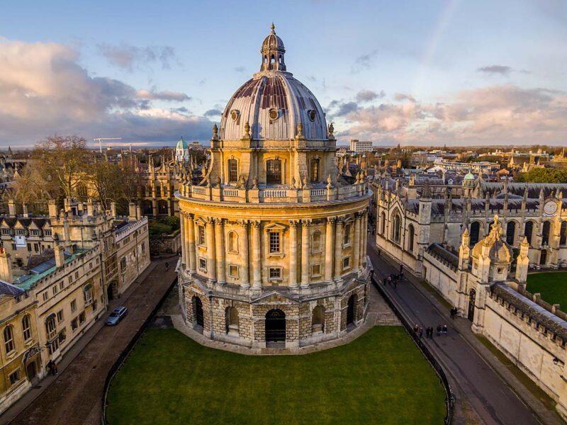 The Bodleian Library, Oxford werd gebruikt in de Harry Potter films
