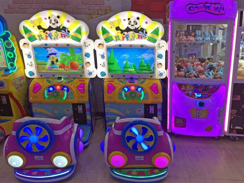 17 uur in Guangzhou: arcade speelhal