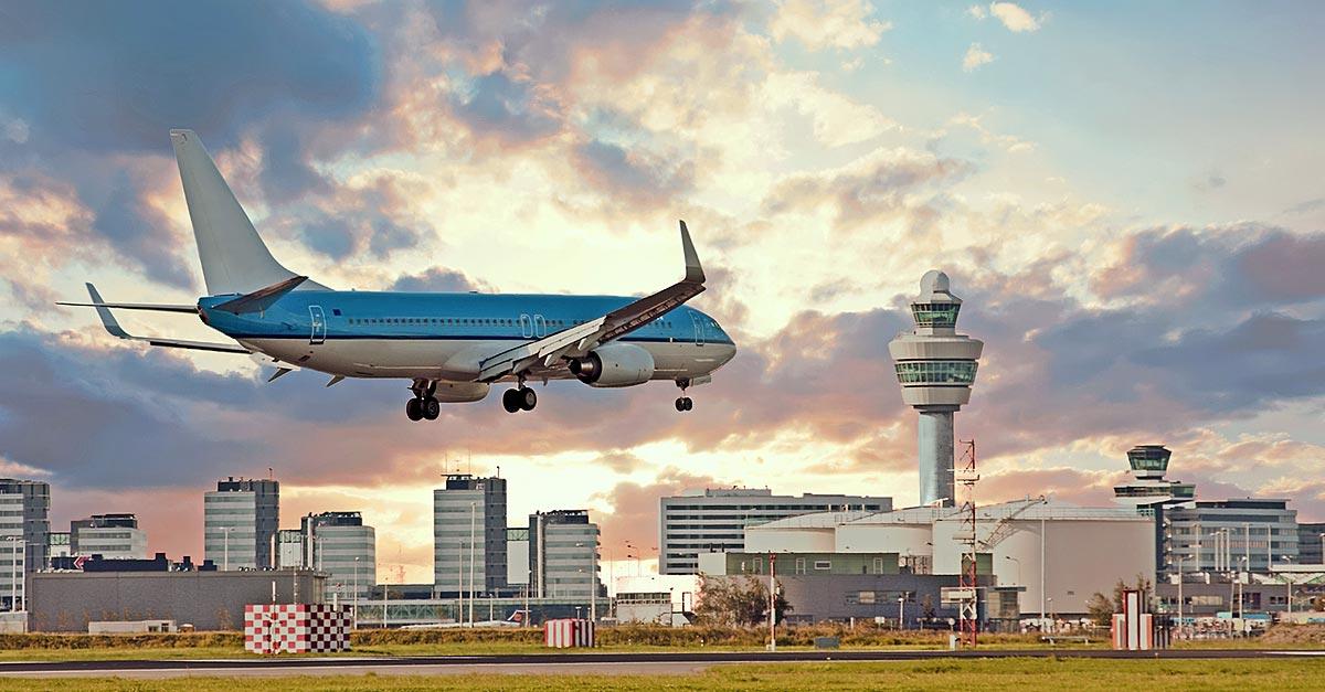 Vliegen op Schiphol