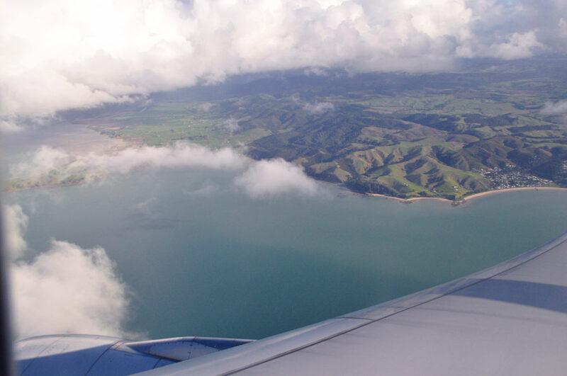 25 juli: eindelijk zicht op Nieuw-Zeeland