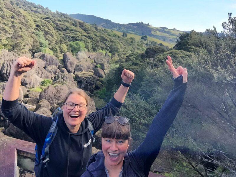 30 juli: Hike naar de Wairere Boulders
