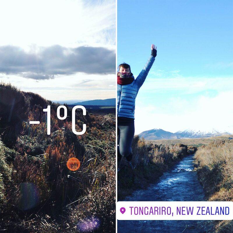 4 augustus: de kou opzoeken in Tongariro