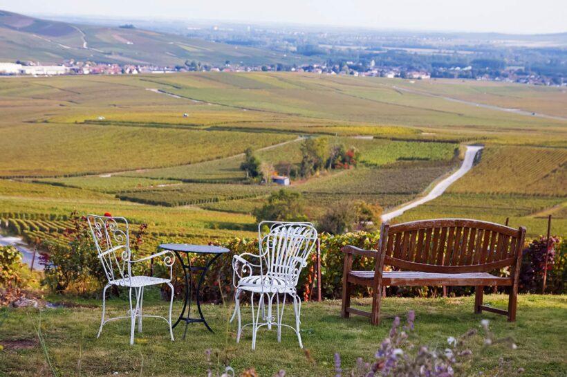 Nazomeren in de Franse Champagne-Ardenne streek