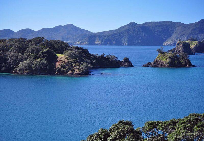 Prachtige uitzichten in Bay of Islands, Nieuw-Zeeland