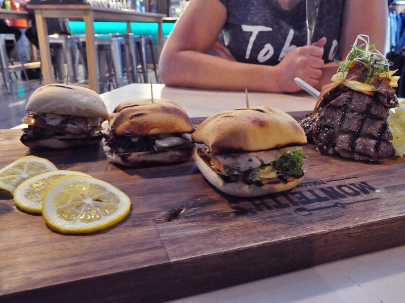 Eten op reis: burgers in Monteith