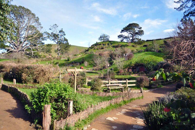 Hobbiton Movie Set in Nieuw-Zeeland