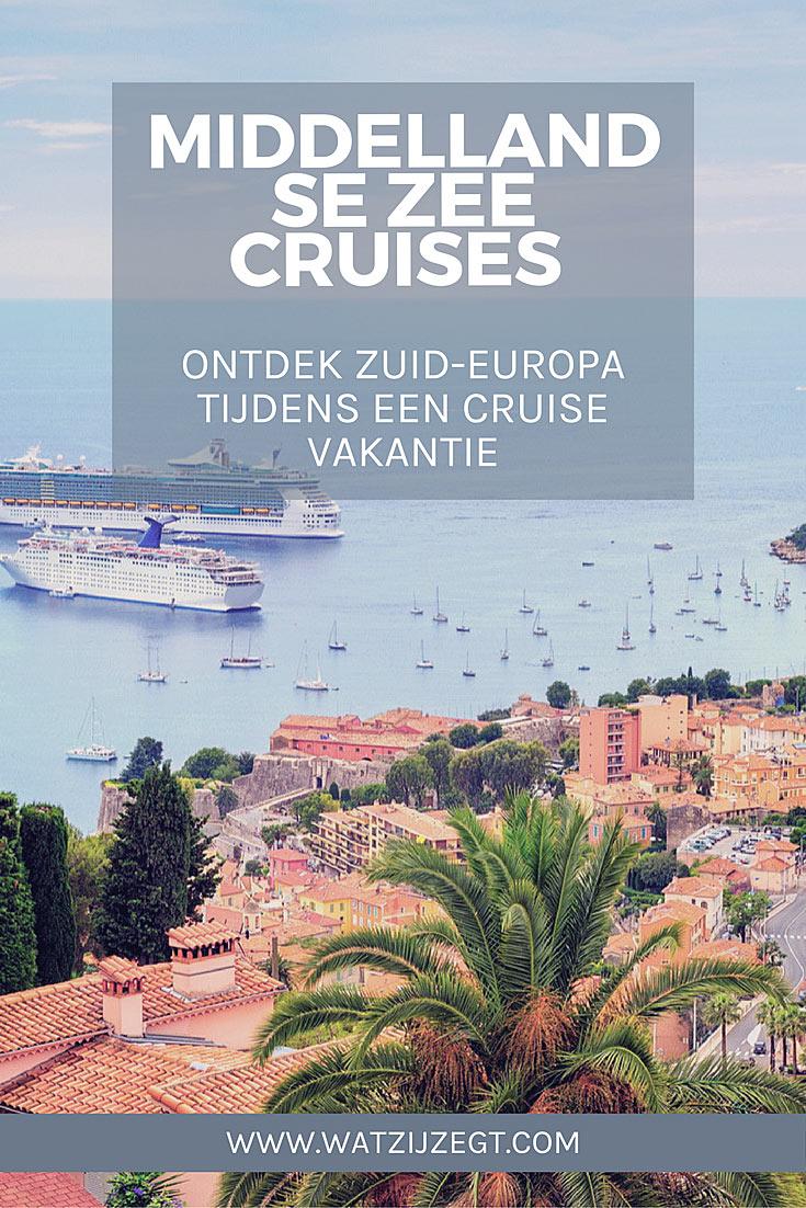 Ontdek Zuid-Europa met deze Middellandse zee cruises