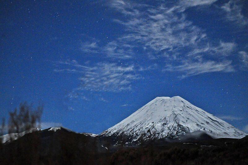 Mount Doom (Mt Ngauruhoe) in Tongariro, Nieuw-Zeeland