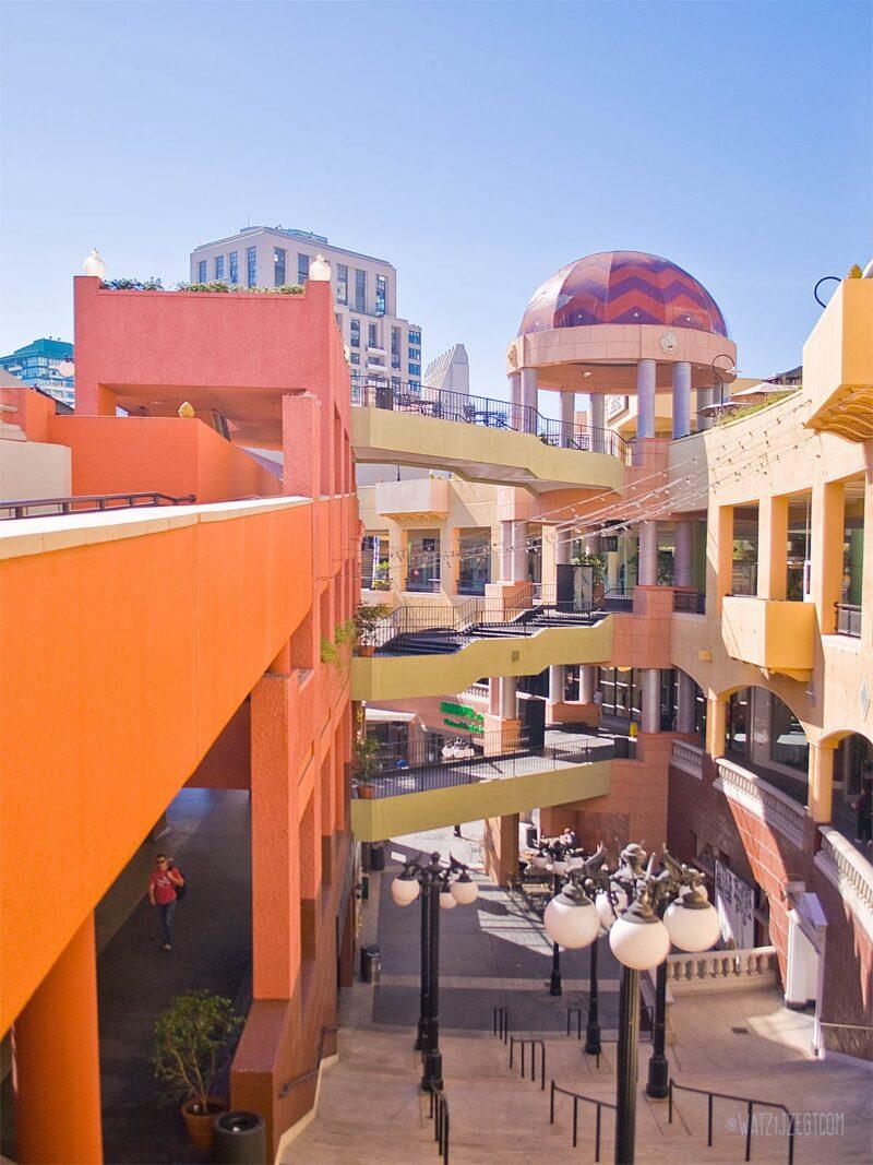 Horton Plaza Mall Downtown San Diego