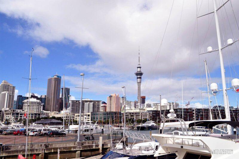 Auckland Viaduct Harbour, Nieuw-Zeeland