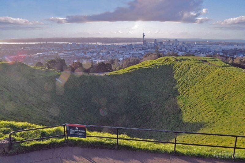 Mount Eden in Auckland, Nieuw-Zeeland