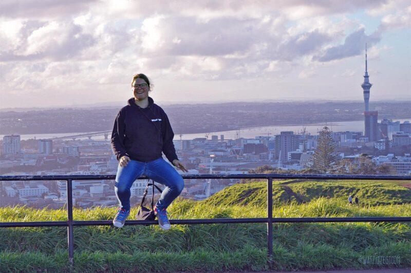 Carina op Mount Eden, Auckland, Nieuw-Zeeland