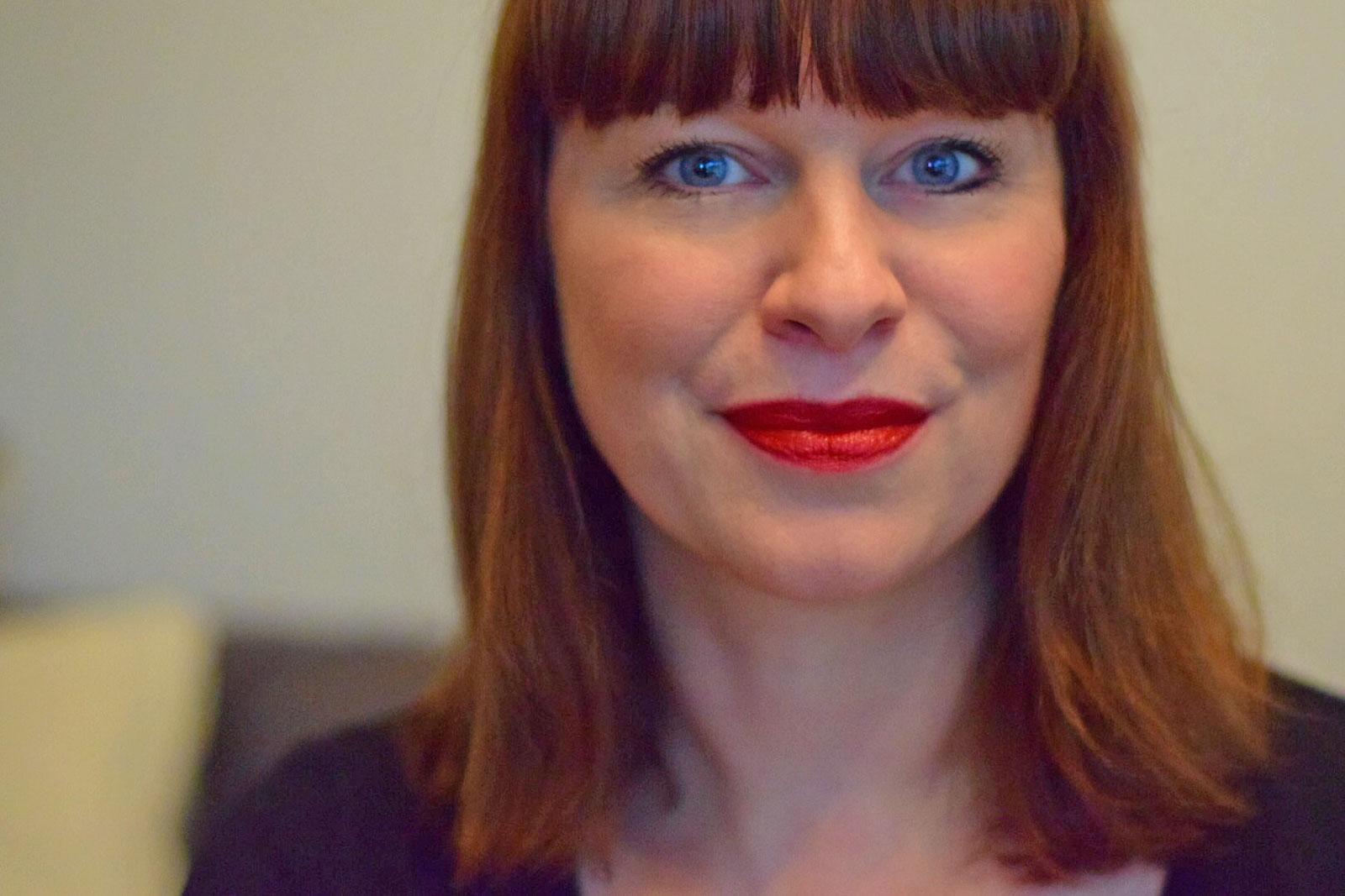 November in beeld: Rode Chanel lipstick Natas