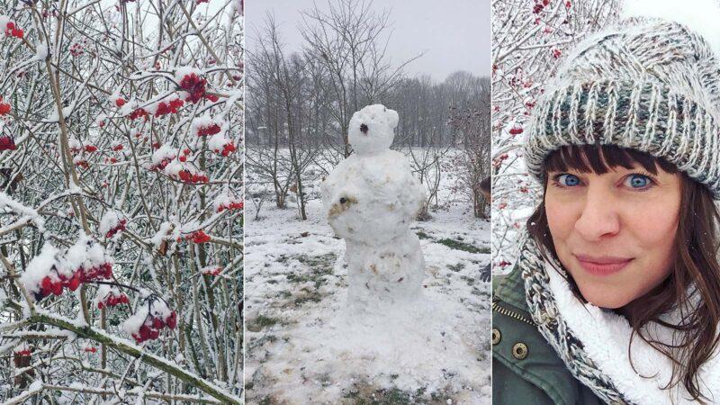 11 december 2017: sneeuw!