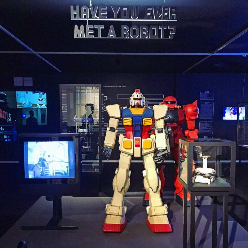 Expo HELLO, ROBOT. Design between Human and Machine.