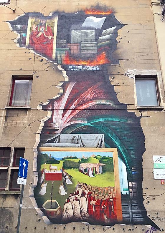 SORRY, NOT SORRY street art tour