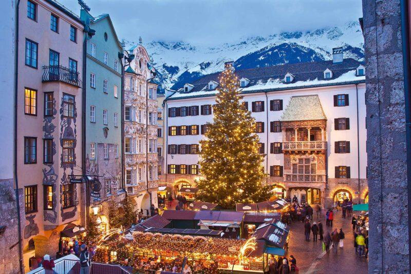 Winterse stedentrip naar Innsbruck: beleef kerst tussen de bergen