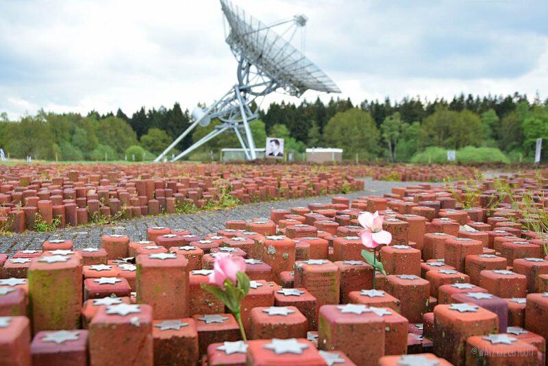 102.000 gedenkstenen in Westerbork
