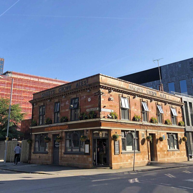 5 juni 2018: Borrel bij The Salutation Pub