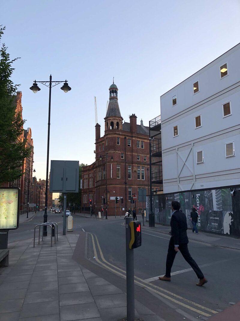 5 juni 2018: als de avond valt in Manchester