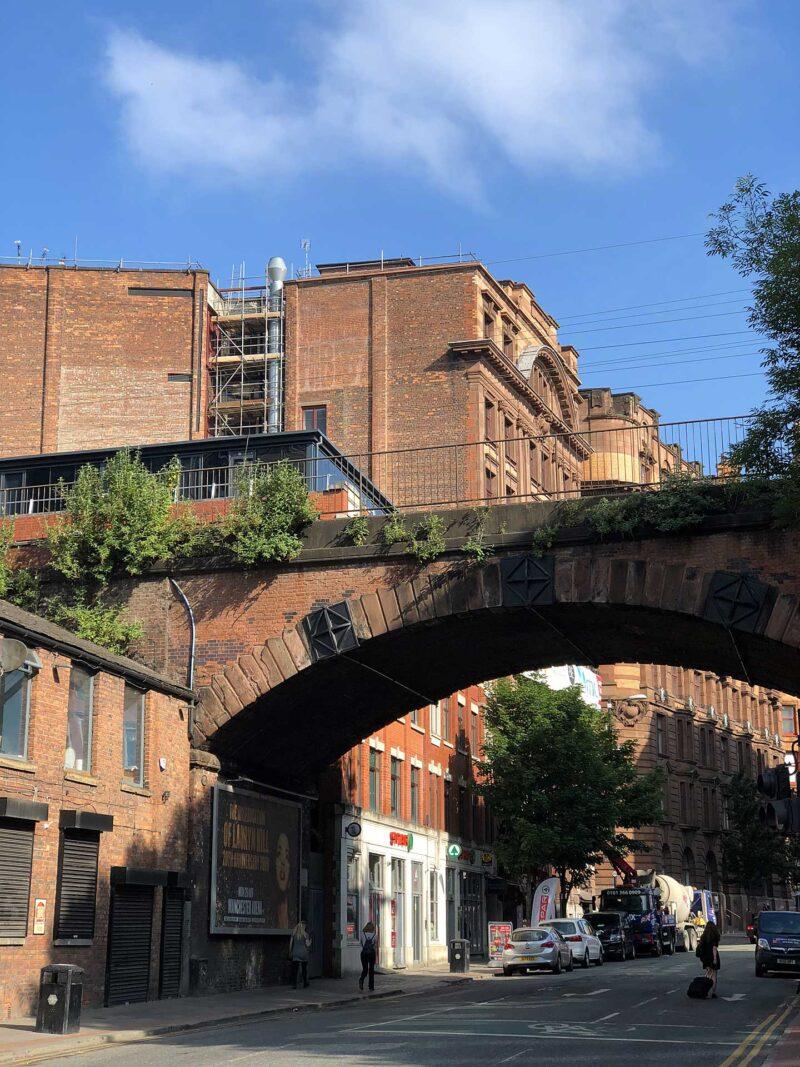 7 juni 2018: Bruggen in Manchester