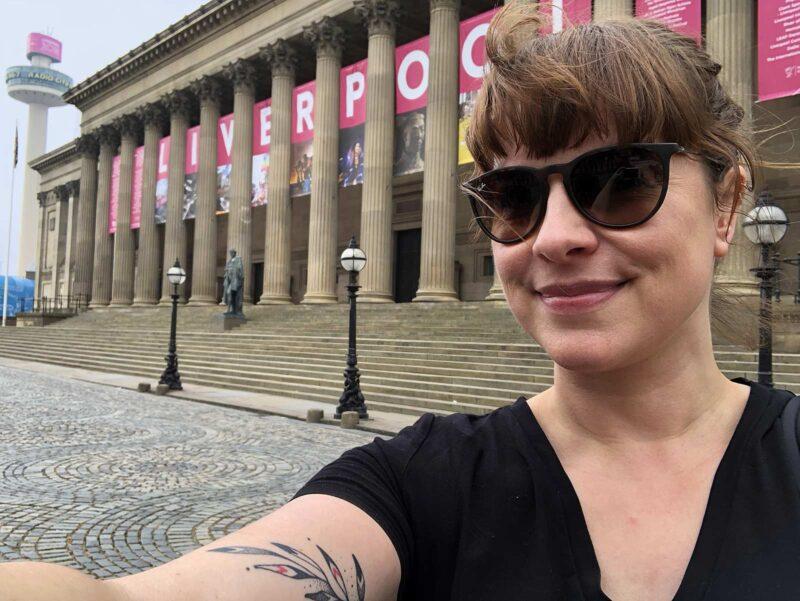 8 juni 2018: Liverpool selfie