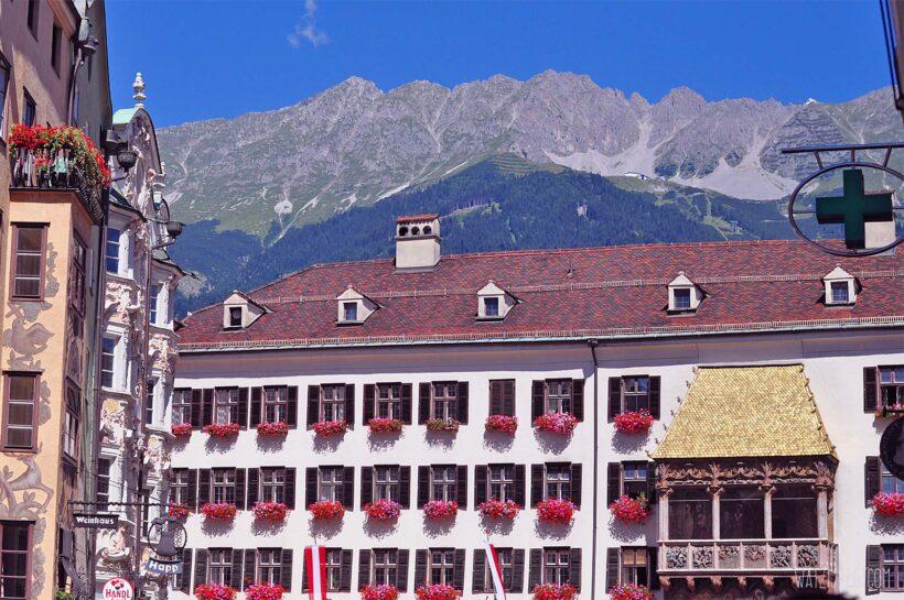 Innsbruck als zomerbestemming: Goldenes Dachl in Innsbruck