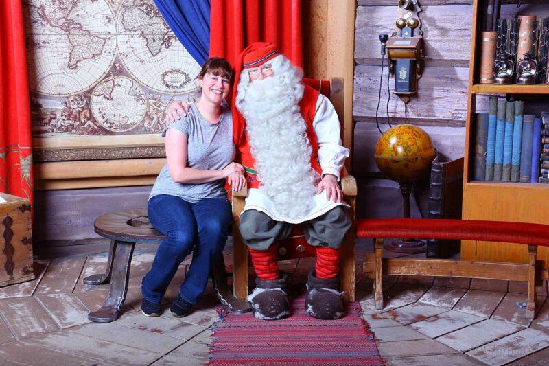 Op bezoek bij de kerstman in Lapland