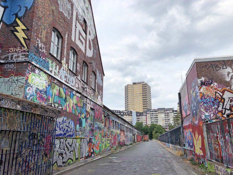 Graffiti en street art in Linden, Hannover