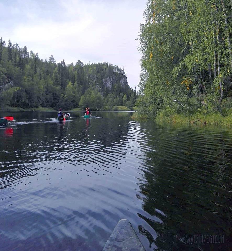 Kanoën in Oulanka NP