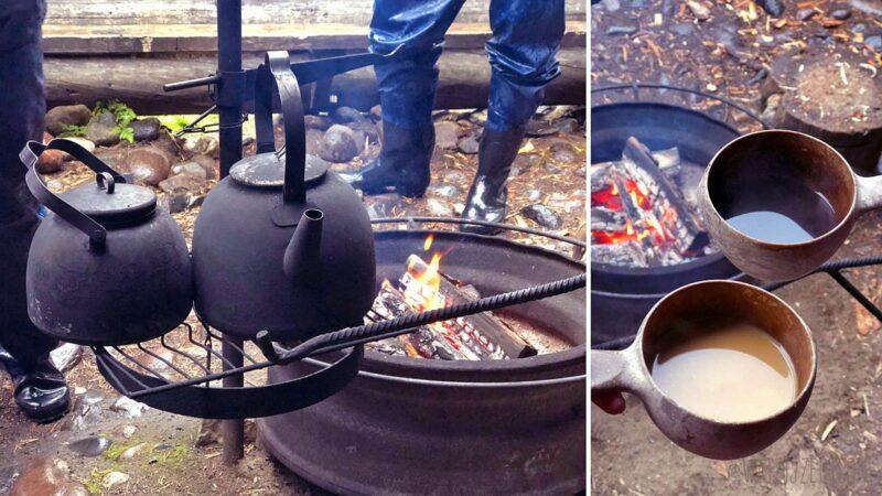 Raften met Ruka Safaris, inclusief traditionele koffiepauze