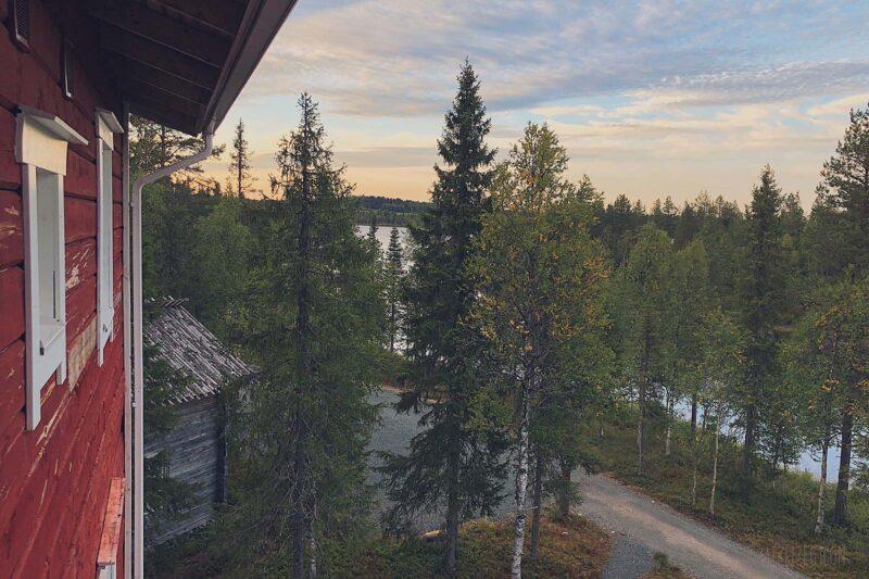 Overnachten in Papin Talo in Ruka, Lapland, Finland