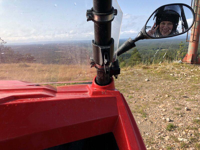 Zaterdag 25 aug 2018: Quadbiken in Ruka, Finland