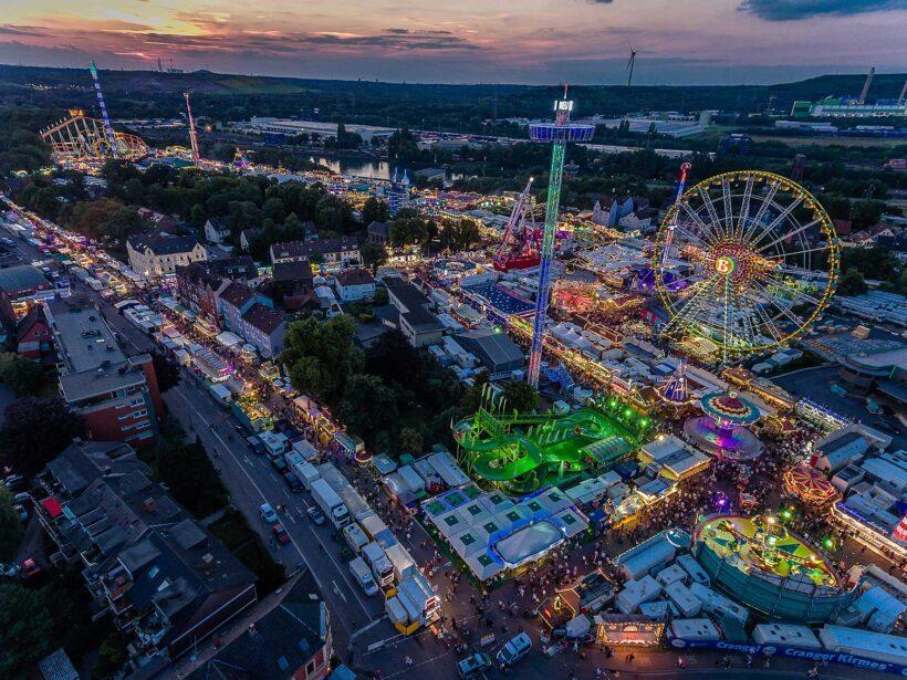 Het Duitse Ruhrgebied: de leukste festivals net over de grens