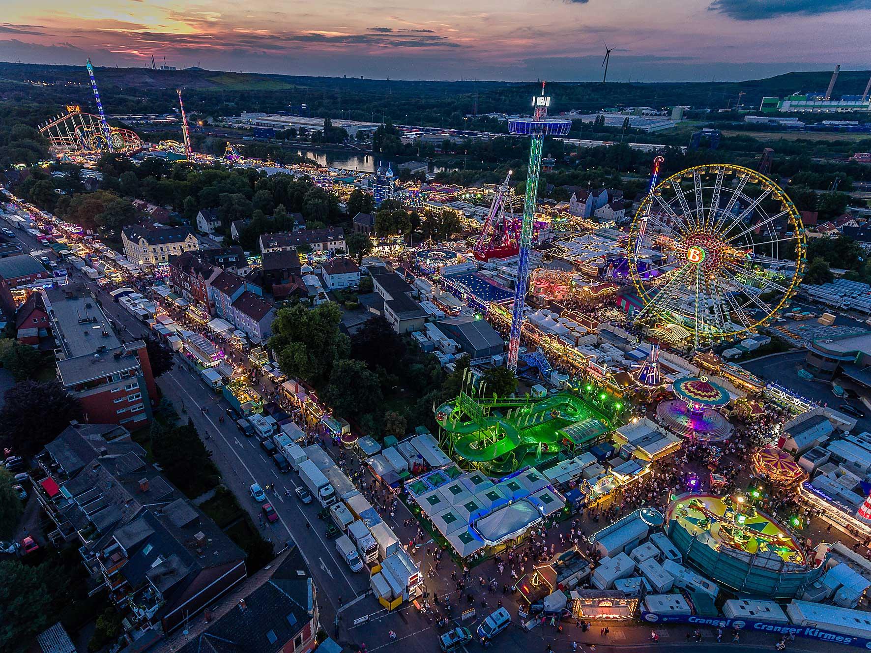 Het Duitse Ruhrgebied: voor de leukste festivals net over de grens