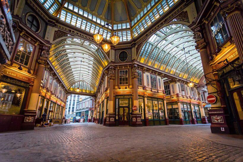 Secret spots in Londen: bezoek Leadenhall Market