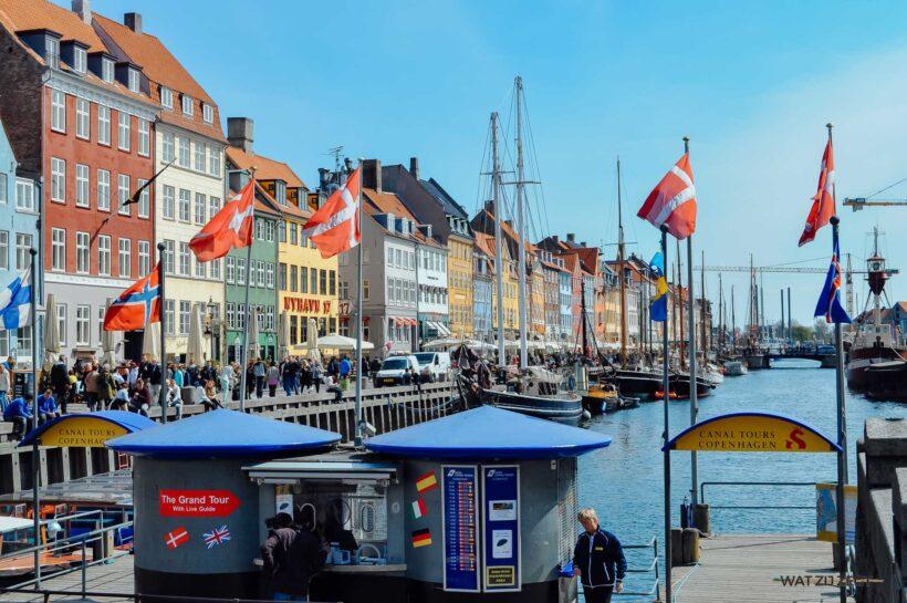 Nyhavn in Kopenagen