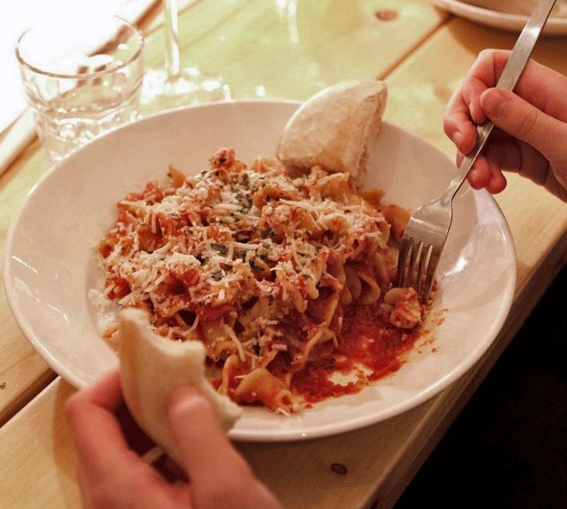 RECEPT: Penne all'arrabbiata van Spaghetteria