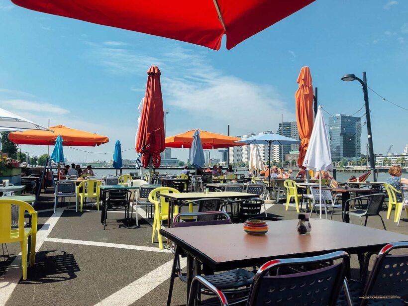 A La Plancha visrestaurant in Rotterdam