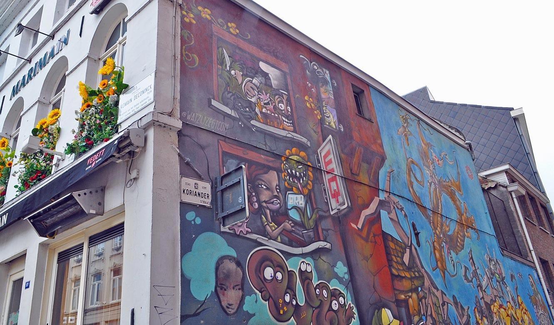 Wat te doen in Gent: Concrete Canvas Tour