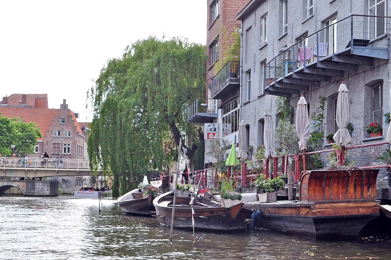 Gent vanaf het water: de bootjes van Gent