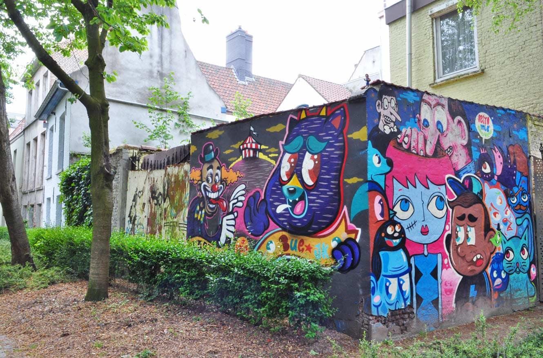 Concrete Canvas Tour, Street Art Gent
