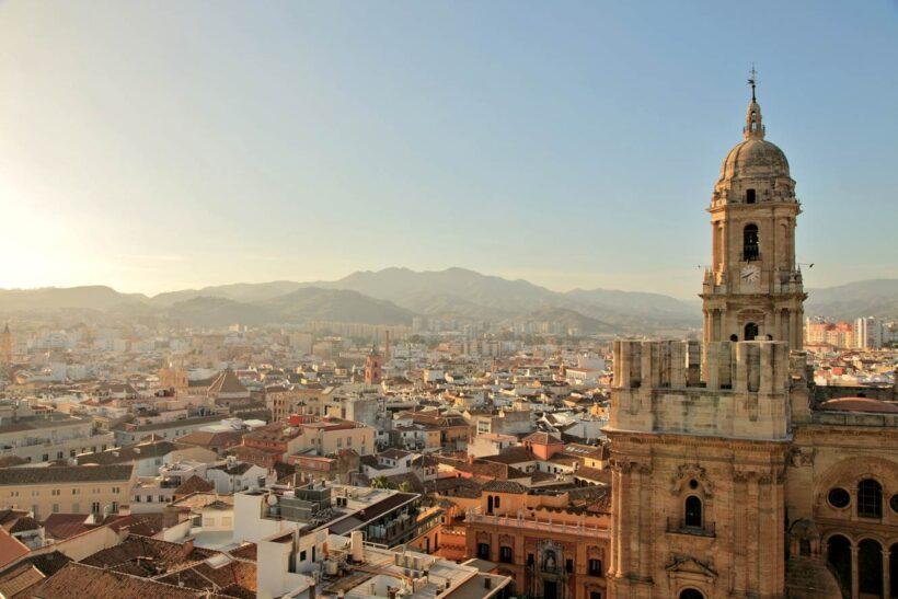 De kathedraal van Malaga